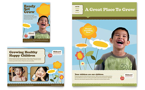 Child Development School Flyer & Ad Template