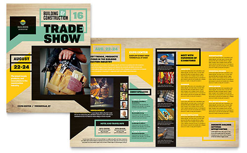 Builder's Trade Show Brochure Template