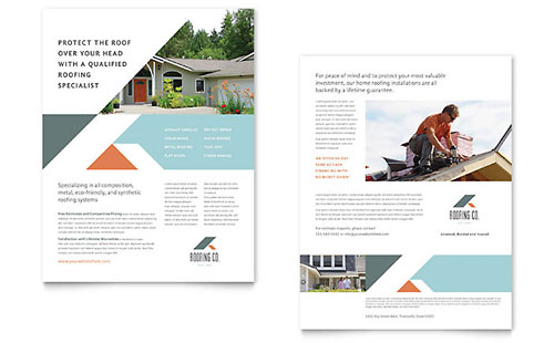 sales brochure template - sales sheet templates indesign illustrator publisher word
