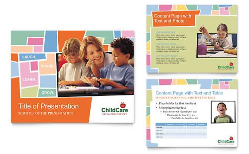 Preschool Kids & Day Care PowerPoint Presentation Template