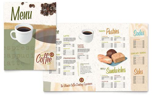Coffee Shop - Menu Template