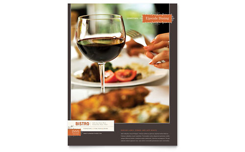 Food and Beverage Flyers – Restaurant Flyers Templates