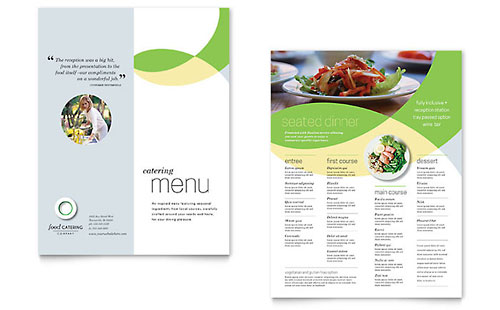 Food Catering Menu Template