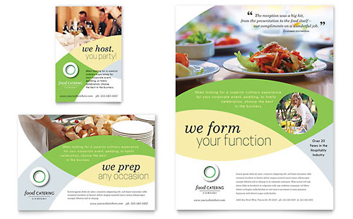 Food Catering Flyer & Ad Template