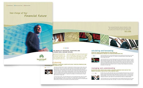 Investment Management Brochure Template