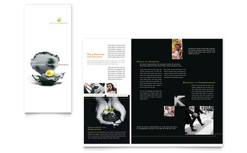 Wealth Management Services Brochure Template