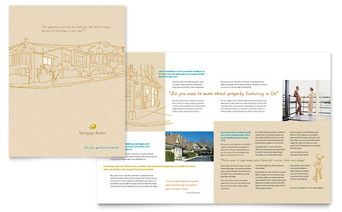 Mortgage Broker Brochure Template