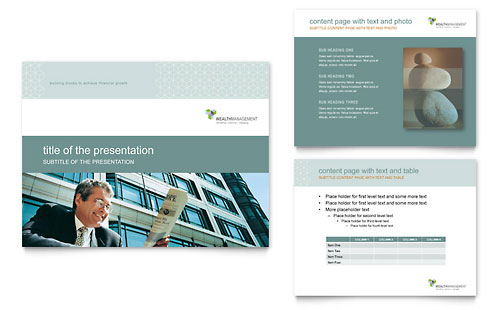 Wealth Management Services PowerPoint Presentation Template