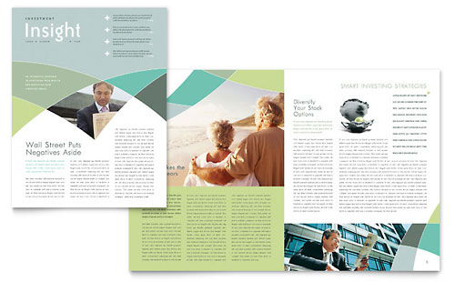 Financial Advisor - Newsletter Template