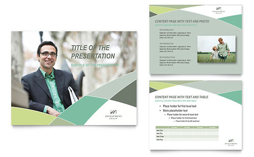 Financial Advisor PowerPoint Presentation Template