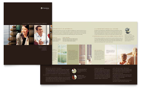 Financial Planner Brochure Template