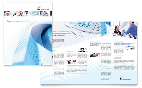 Accounting Firm - Brochure Template