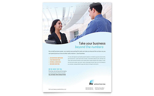 Accounting Firm - Flyer Template