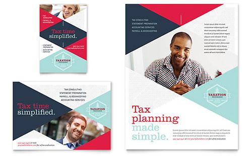 Tax Preparer - Flyer & Ad Template