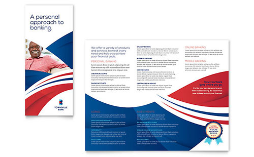 Bank InDesign Brochure Template