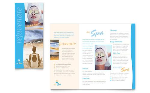 Beauty Spa Brochure Template