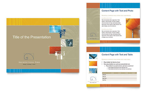 Architectural Firm PowerPoint Presentation Template