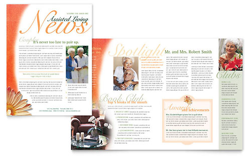 Health Newsletter Templates Free ] - nursing school hospital ...