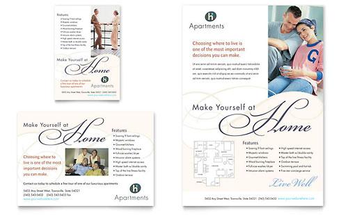 Apartment & Condominium Flyer & Ad Template