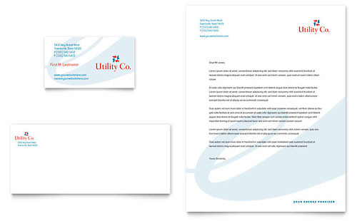 business template company letterhead