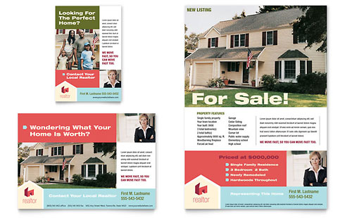 Home Real Estate Flyer & Ad Template
