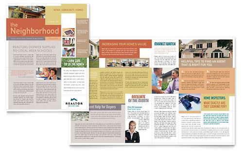 Realtor & Real Estate Agency Newsletter Template
