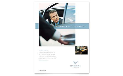 Limousine Service Flyer Template