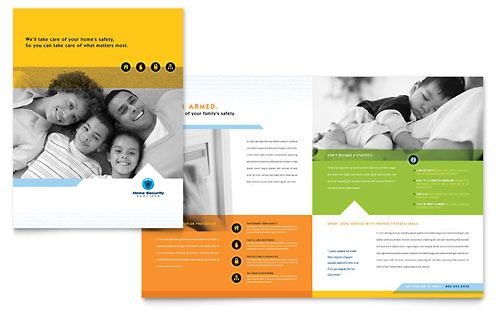 Health Insurance Company Brochure Template Design – Health Brochure Template