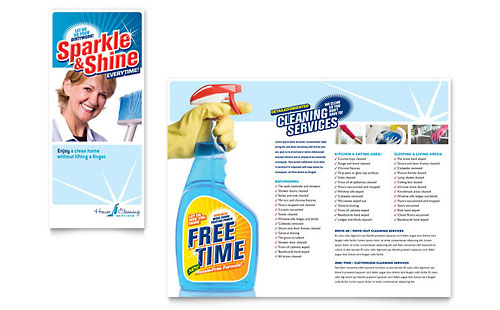 free house cleaning flyers templates | SimplePrint.com