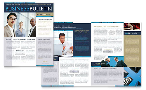 Small Business Consulting Newsletter Template