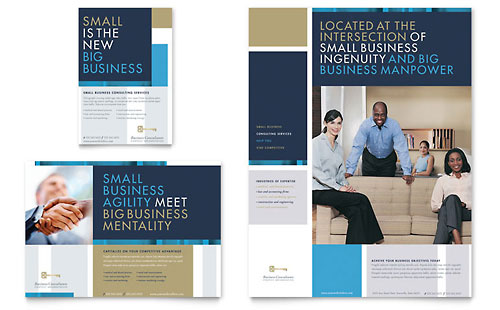 Small Business Consulting Flyer & Ad Template