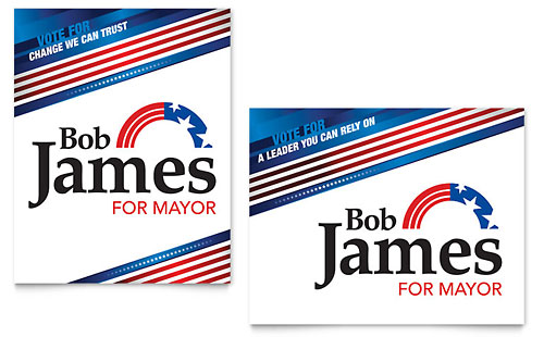 Political Campaign Poster Template