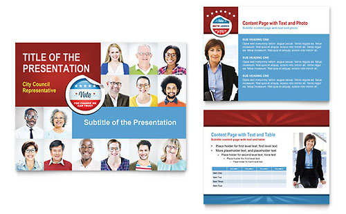 Political Candidate PowerPoint Template