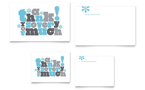 Business Events Thank You Cards Templates Amp Designs
