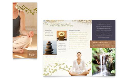 Naturopathic Medicine Brochure Template