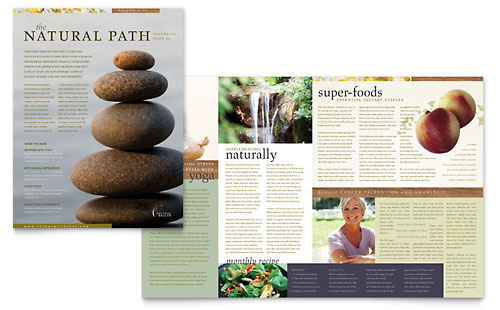 Naturopathic Medicine Newsletter Template