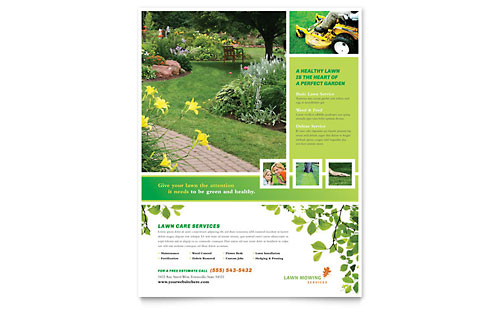 Home Maintenance Flyers Templates Amp Designs