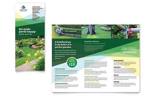 Landscaper - Brochure Template
