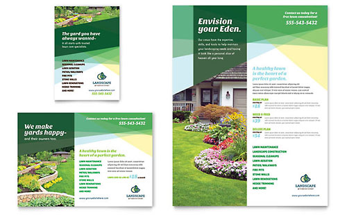 Landscaper Flyer & Ad Template