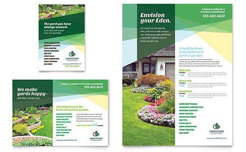 Landscaper Flyer & Ad Template