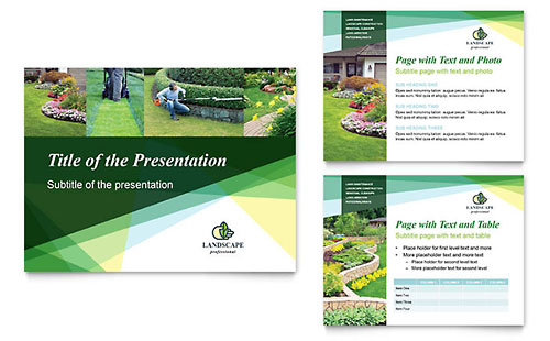 Landscaper PowerPoint Presentation Template