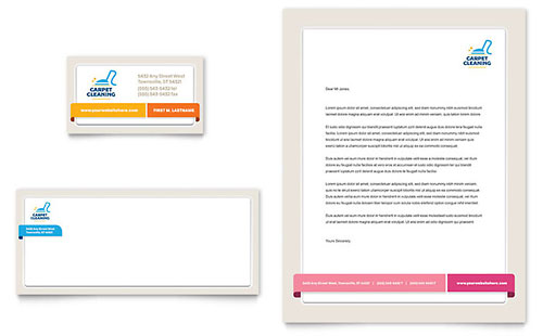 Carpet Cleaning Letterhead Template