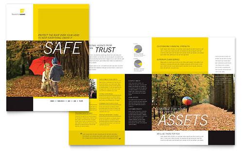 Insurance Agent Brochure Template