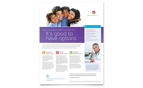 Medical Health Care Flyers – Medical Brochure Template
