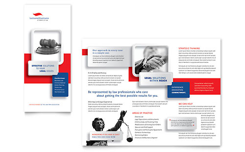 Justice Legal Services - Brochure Template