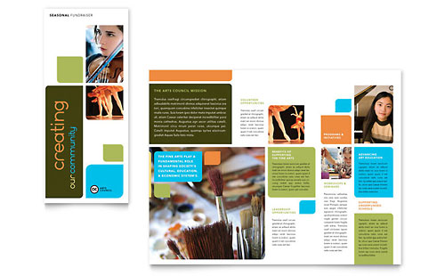 Education training pamphlets templates designs for Training brochure template