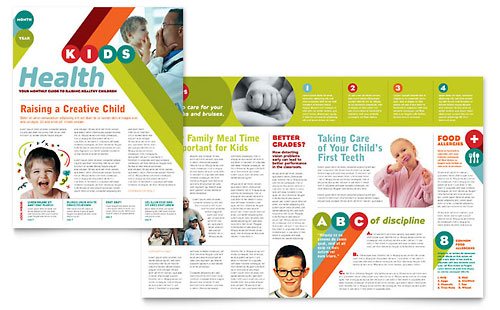Pediatrician & Child Care Newsletter Template