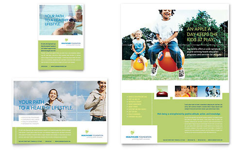 Healthcare Management Flyer & Ad Template