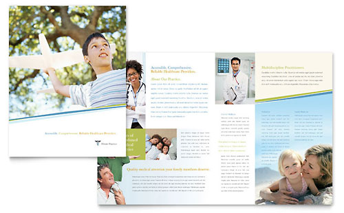 Family Physician Brochure Template