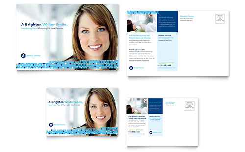 Dentistry & Dental Office Postcard Template